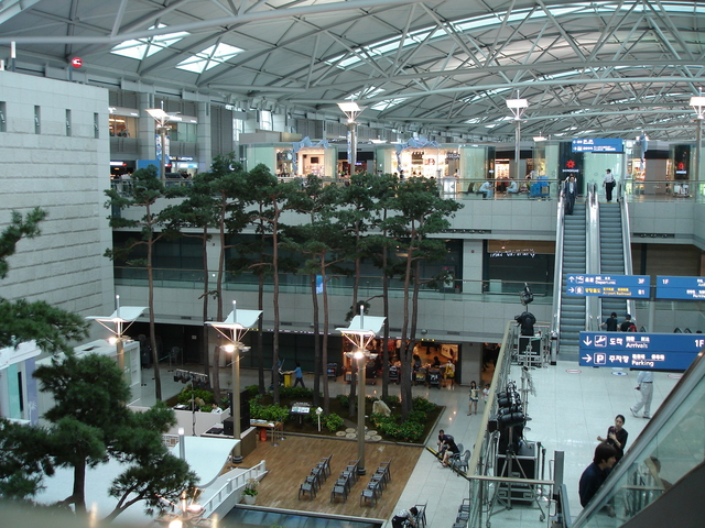 Aérport d'Incheon