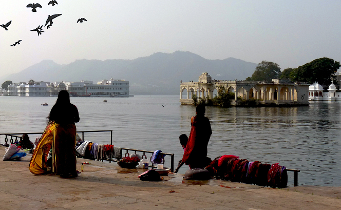 Pichola Lake, Udaipur, Rajasthan, India